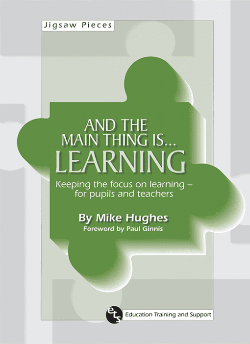 Mike Hughes ETS Education, Training, and Support - And the main thing is... Learning