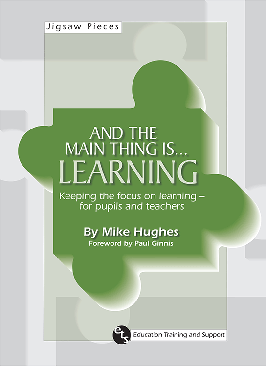 Buy Now - Mike Hughes ETS Education, Training, and Support - And the main thing is... Learning