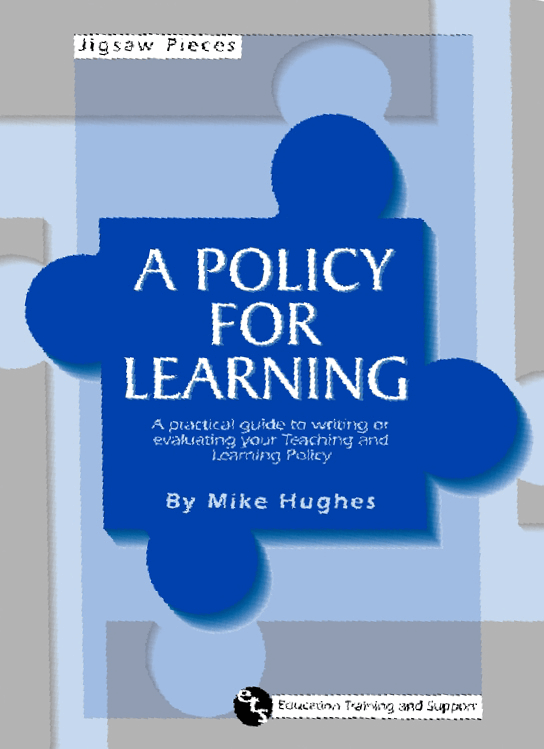 Buy Now - Mike Hughes ETS Education, Training, and Support - A Policy for Learning