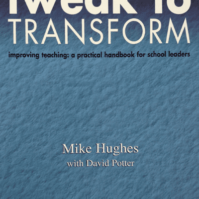 Mike Hughes ETS Education, Training, and Support - Tweak to Transform